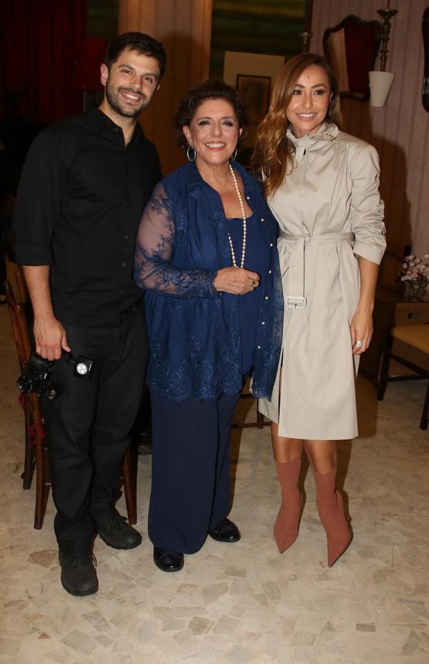 Duda Nagle, Leda Nagle e Sabrina Sato (Foto: Thiago Duran/AgNews)