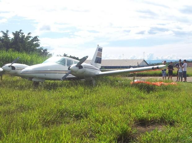 Paraquedista morre em Piracicaba (Foto: Fernanda Zanetti/G1)