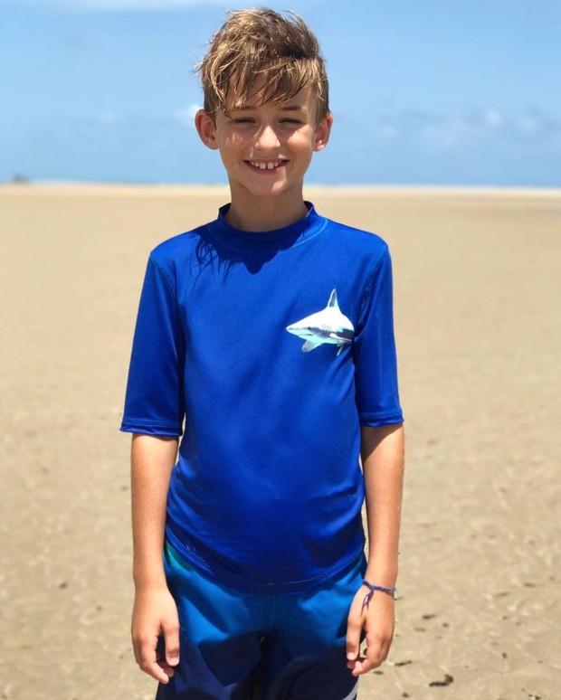 Noah, filho de Cássio Reis (Foto: Reprodução / Instagram)