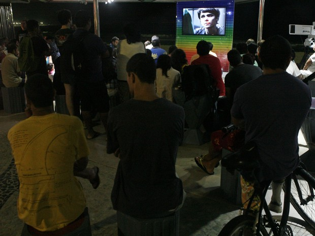 Sequestro de Tufão prendeu atenção dos espectadores (Foto: Paulo Vitor / G1a)