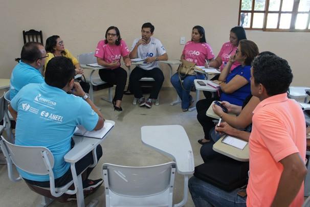 Ação Global (Foto: Alysson Bernardo/TV Cabo Branco)
