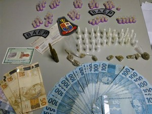 Baep prende segundo suspeito de participar de roubo de carga em Campinas (Foto: Imprensa / Baep )