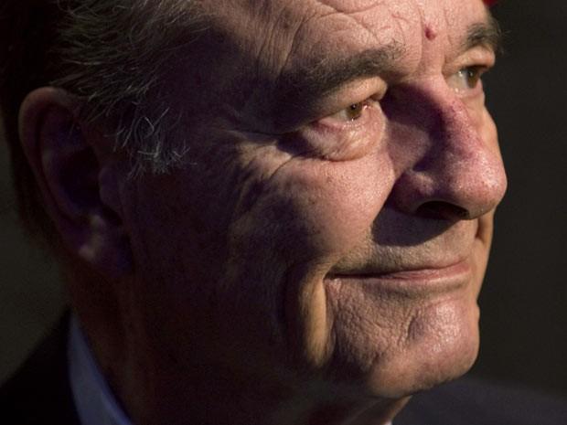 O ex-presidente francês Jacques Chirac em solenidade em Paris em 24 de novembro de 2011 (Foto: Reuters)