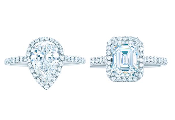 Duas versões do clássico anel Soleste (Foto: Divulgação)