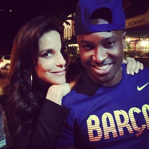 Ivete Sangalo e Thiaguinho (Foto: Instagram / Reprodução)
