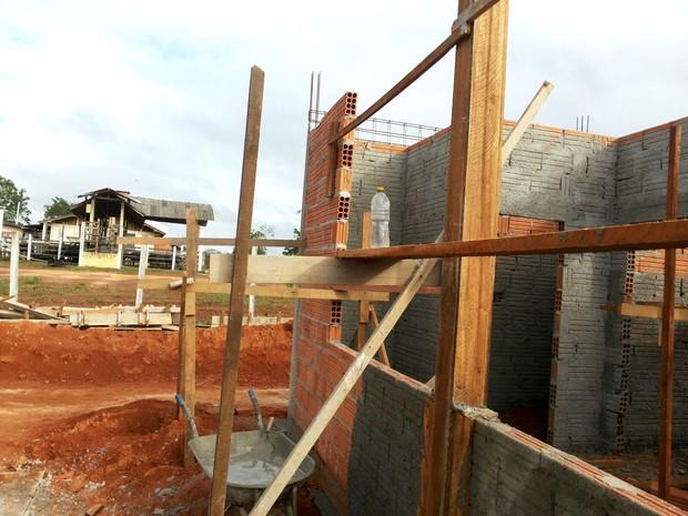Amapá, Macapá, construção, matadouro, centro endemias (Foto: Ubiraelson Viana / VC mo G1)
