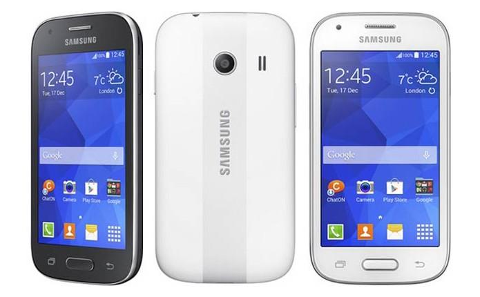 Galaxy Ace Style é um aparelho de entrada da Samsung com tela de 4 polegadas e Android KitKat (Foto: Divulgação/Samsung)