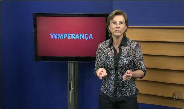 Médica nutróloga Regina Furtado dá dicas de alimentação no quadro 'Seção Temperança' (Foto: Reprodução EPTV)