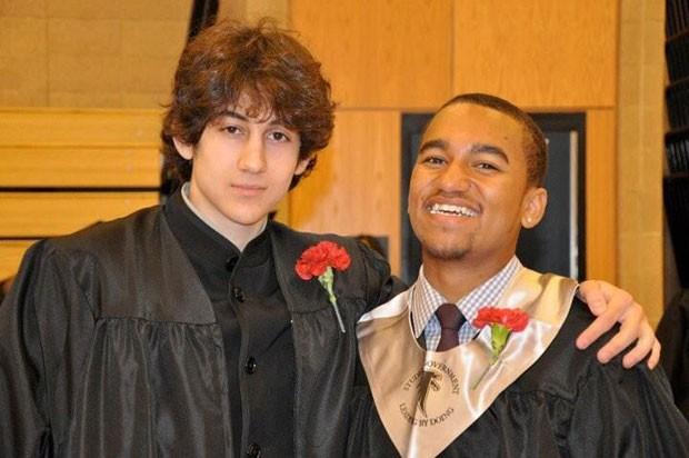 Foto mostra sobrinho de Robin Young com Dzhokhar A. Tsarnaev (Foto: Robin Young/AP)
