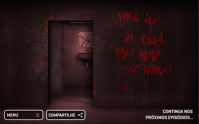 Spermax game - final (Foto: Reprodução/João Gabriel Balbi)