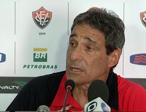 carpegiani, técnico do vitória (Foto: Imagens/TV Bahia)