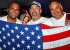 Balada 'pré-jogo' reúne mais de mil americanos (Reprodução)