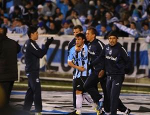 Kleber faz gol da vitória em cima do Fluminense (Foto: Lucas Uebel / Grêmio, DVG)
