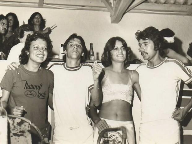 No carnaval de 1978 eles estavam namorando (Foto: Arquivo pessoal / Orisvaldo Quiquinato)