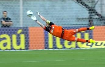 Paulo Victor ajuda Fla a quebrar marca do Sport e tem a defesa mais bonita