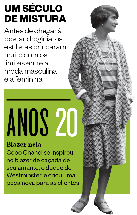 Blazer criado por Coco Chanel em 1920 (Foto: Sasha/Getty Images)