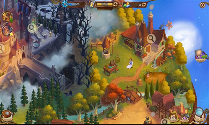 Disney Hidden Worlds é o novo game para Windows Phone que mistura vários filmes famosos da Disney (Foto: Divulgação/Windows Phone Store)