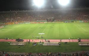 Estádio Castelão, Sampaio correa e Palmeiras (Foto: Marcelo Hazan)