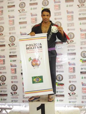 Denílson da Silva Borges, sargento e campeão de jiu-jitsu (Foto: Arquivo Pessoal)