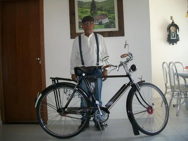 Bicicleta Santos Dumont CIMTB (Foto: Ailton Alves/Arquivo Pessoal)