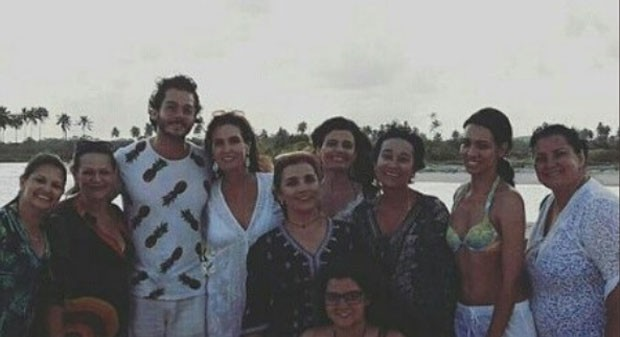 Fátima e Túlio em Recife (Foto: Reprodução Instagram)