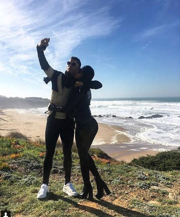 Cristiano Ronaldo e Georgiana Rodrígues (Foto: Reprodução Instagram)