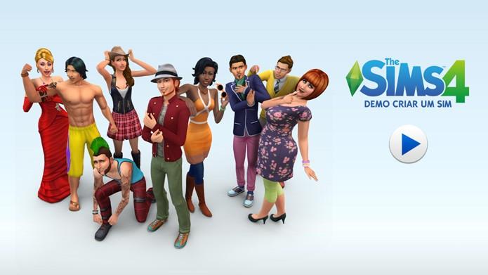 Veja como fazer o download da demo grátis de The Sims 4 (Foto: Reprodução/Tais Carvalho)