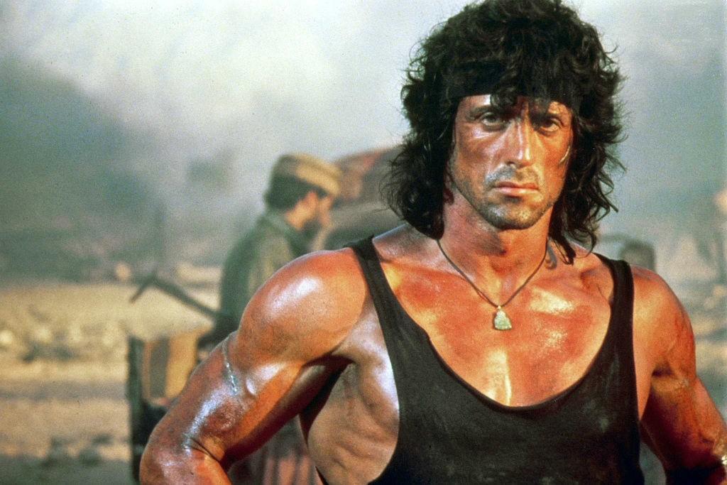Sylvester Stallone como 'Rambo' (Foto: Divulgação)