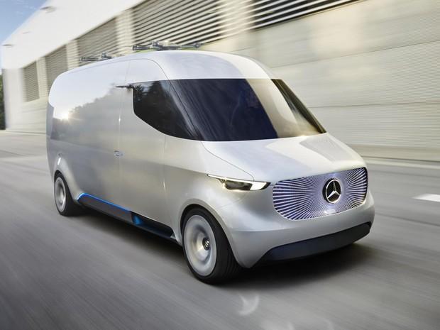 Mercedes-Benz Vision Van (Foto: Divulgação)