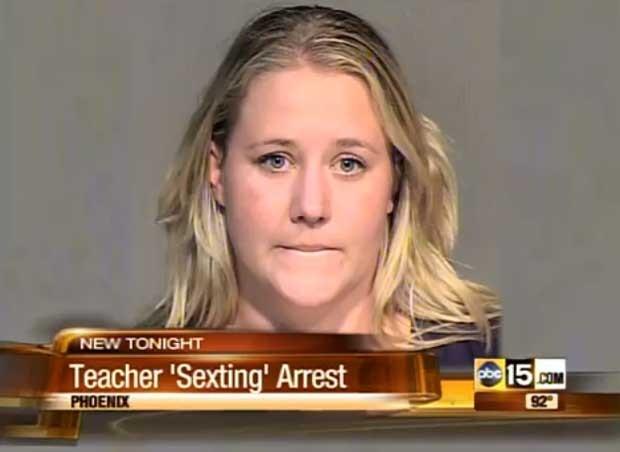 A professora americana acusada de ter relações sexuais com uma estudante de 14 anos (Foto: Reprodução)