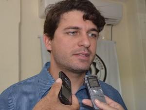 Delegado do Denarc, Osvaldo Rezende (Foto: Marina Fontenele/G1)