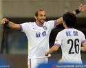 Barcos faz gol, mas Tianjin Teda cede empate a time de Moreno
