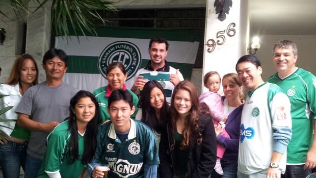 Família unida. Bugrinos e pontepretanos acompanham juntos o dérbi (Foto: Felipe Souza / Globoesporte.com)