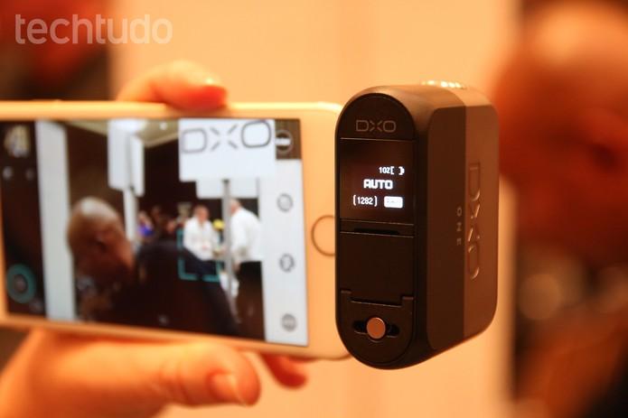 DXO One (Foto: Fabrício Vitorino/TechTudo)
