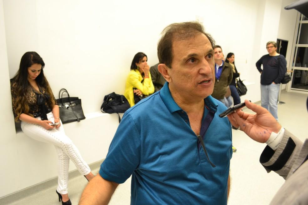 Marco Chedi foi baleado em tentativa de assalto em São Paulo (Foto: Filipe Rodrigues/Globoesporte.com)