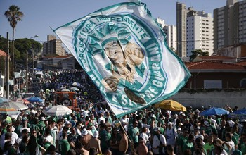 Torcida Guarani, Guarani x Boa Esporte (Foto: Ari Ferreira/ GloboEsporte.com)