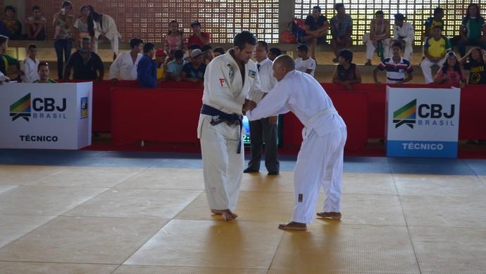 """""""Briga entre clubes"""" no 7° e último Circuito Estadual de Judô, no Amapá (Foto: Rafael Moreira/GE-AP)"""