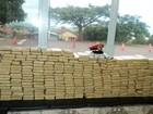 Quatro jovens são apreendidos por transportarem 53 kg de drogas no PR