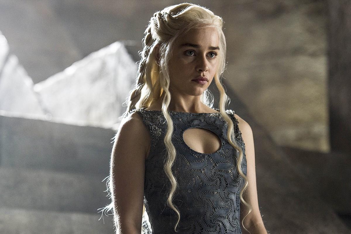 Emilia Clarke como Daenerys Targaryen em 'Game of Thrones' (Foto: Divulgação HBO)