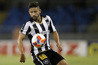 Elvis Botafogo x ABC (Foto: Vitor Silva/SSPress/Botafogo)