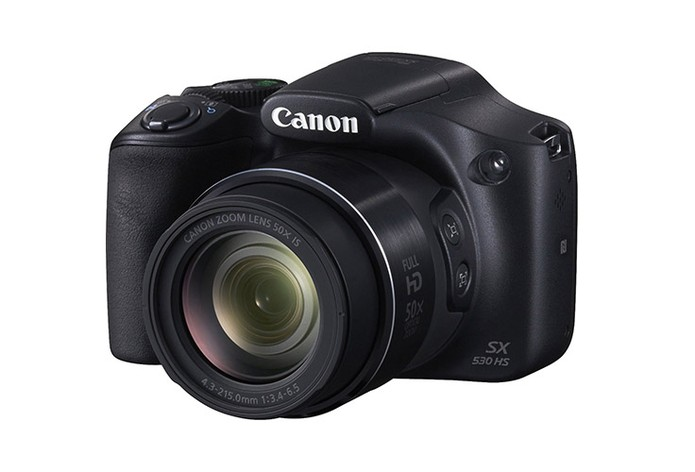 Câmera Digital Canon SX530HS tem tela LDC de 3 polegadas e Wi-Fi embutido (Foto: Divulgação/Canon)