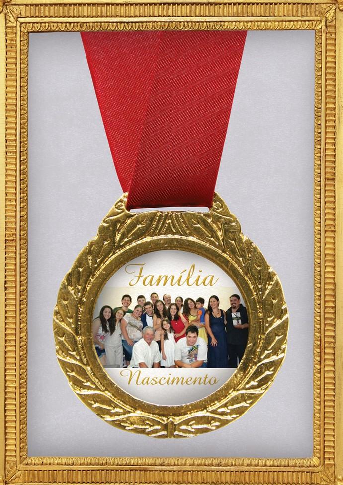A principal medalha da vida da Dona Irena é a família linda que ela construi com muito amor (Foto: Divulgação/RPC)