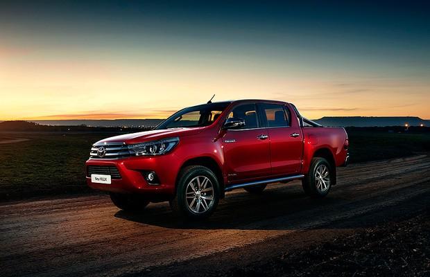 Toyota Hilux para Europa (Foto: Toyota)