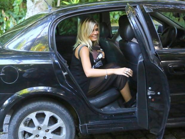 Loira que saiu no carro do Justin do  (Foto: AgNews / AgNews)
