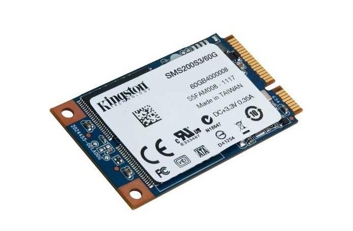SSDs mSATA são voltados para dispositivos com espaço reduzido, como notebooks (Foto: Divulgação/Kingston)