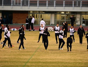 Corinthians treino Yokohama (Foto: Marcos Ribolli / Globoesporte.com)