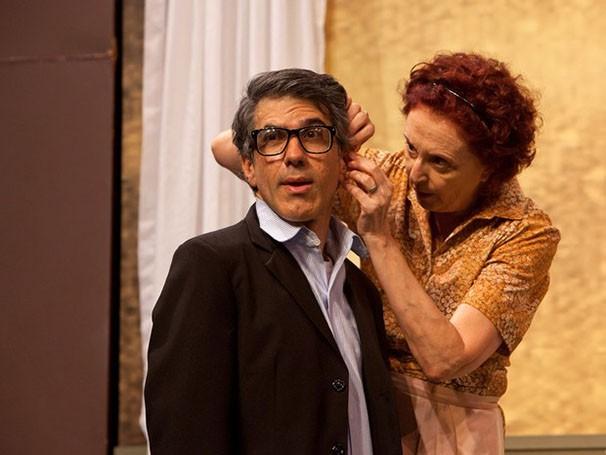 O espetáculo é é baseado no best seller 'Manual da Mãe Judia', de Dan Greenburg (Foto: João Caldas)