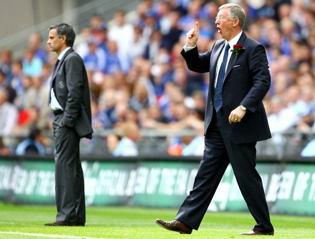 José Mourinho Alex Ferguson (Foto: Getty Images)