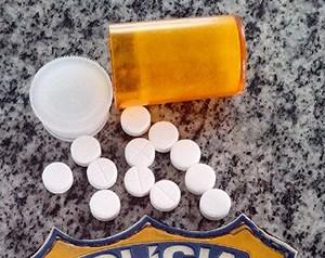 Comprimidos apreendidos com caminhoneiro em Guaraí (Foto: Divulgação/PRF-TO)