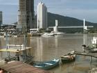 Após atrasos nas obras, passarela é inaugurada em Balneário Camboriú